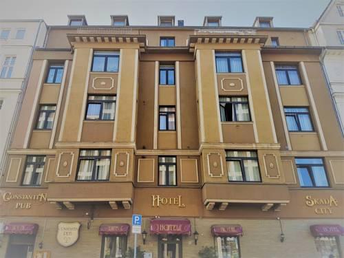 Außerhalb: Skada Hotel in Köln